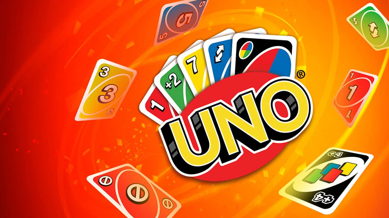 Card game UNO on Xbox One