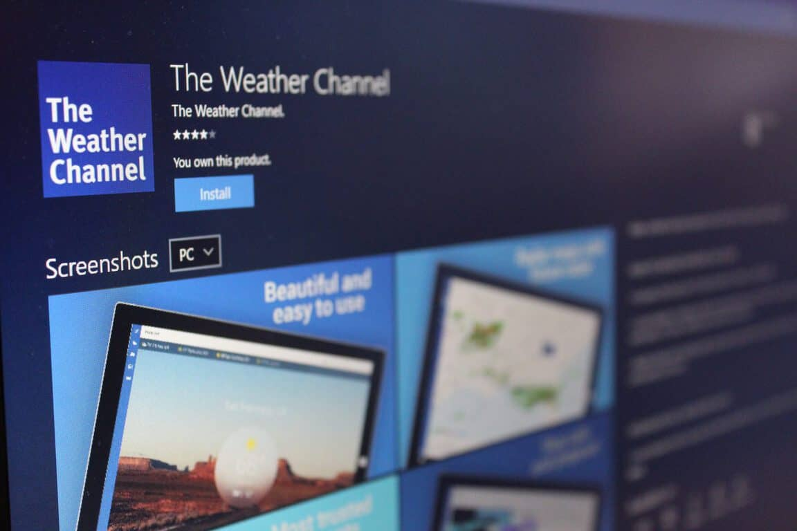 Is the Weather Channel app coming to Xbox One? OnMSFT com