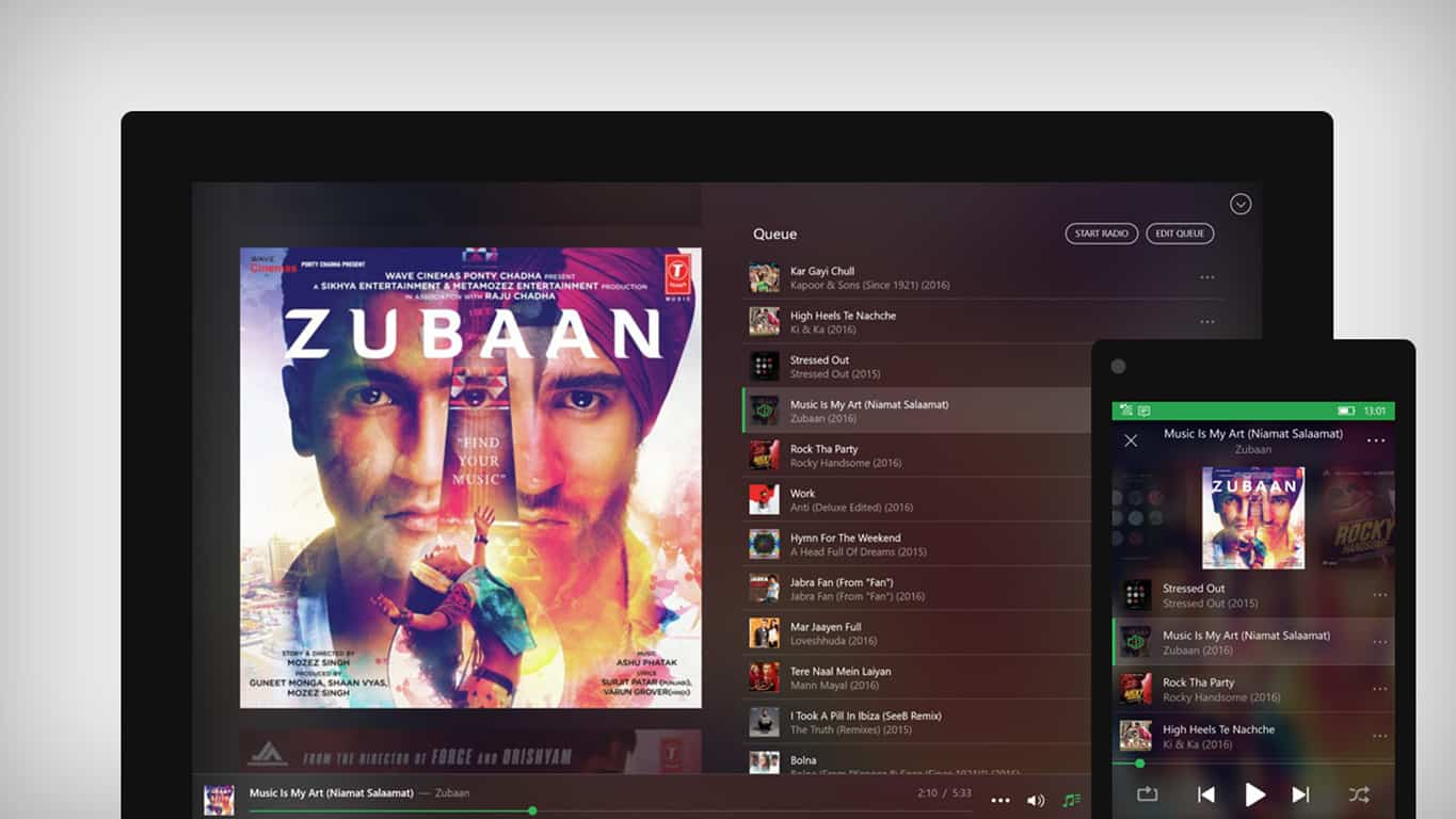 Saavn app update removes ads and adds offline music