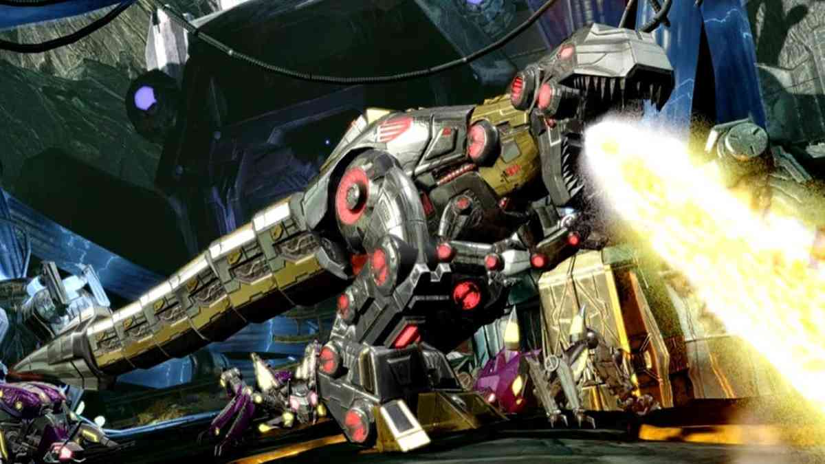 TRANSFORMERS: Fall of Cybertron on Xbox One superior, TRANSFORMERS