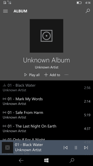 An album full of unrecognized tracks from different artists.