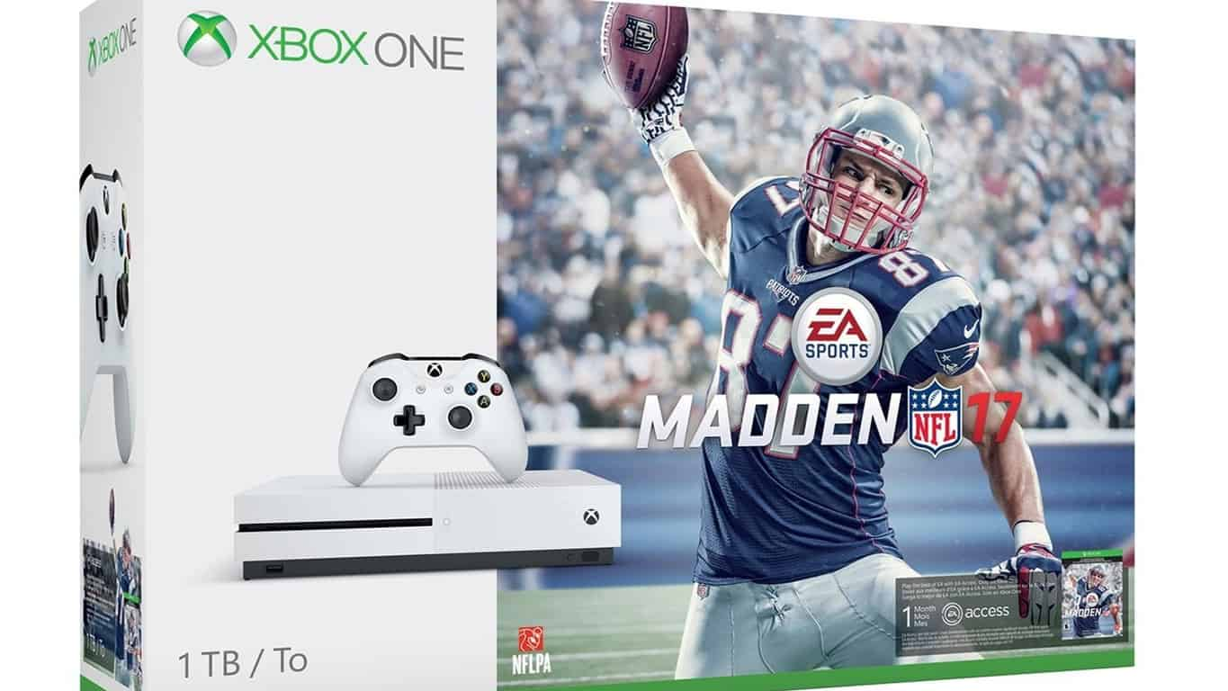 Madden NFL 17 Xbox One S Bundle
