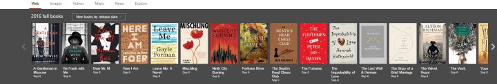 Bing Fall Books