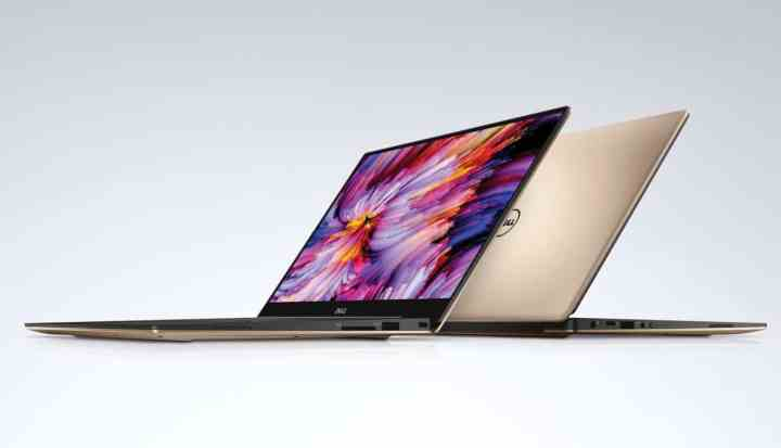 The Dell XPS 13.