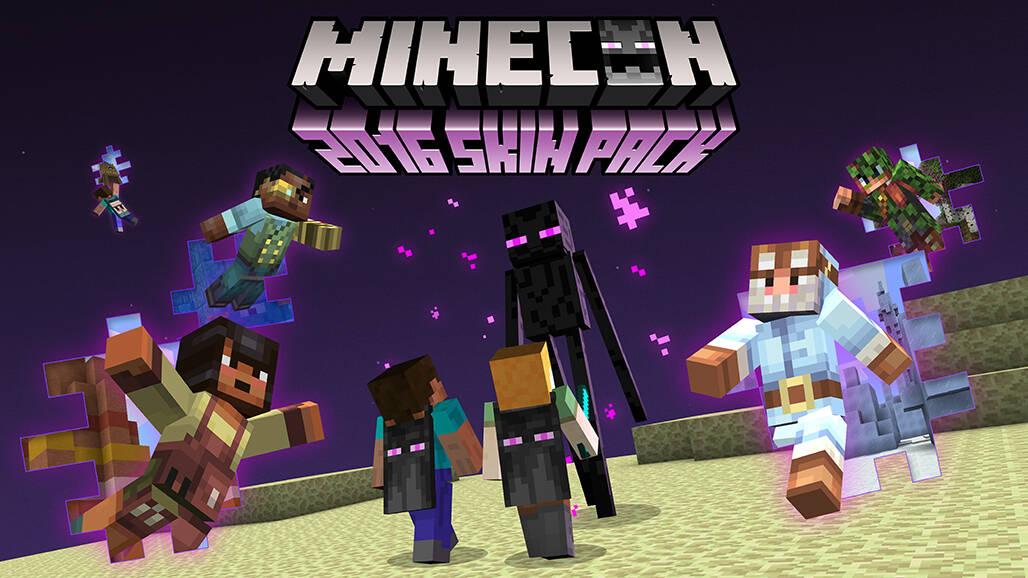 Minecraft celebrates Minecon 2016 with free skin pack OnMSFT com