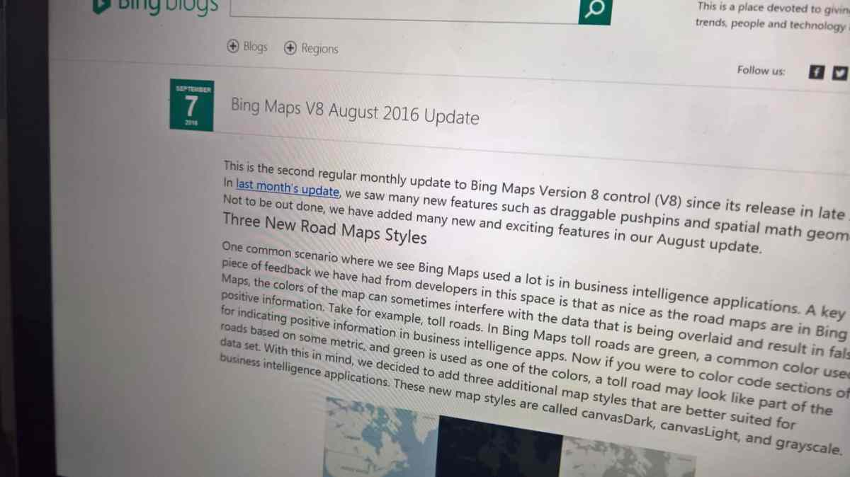 Bing Maps V8 August update brings new road maps styles, more OnMSFT.com