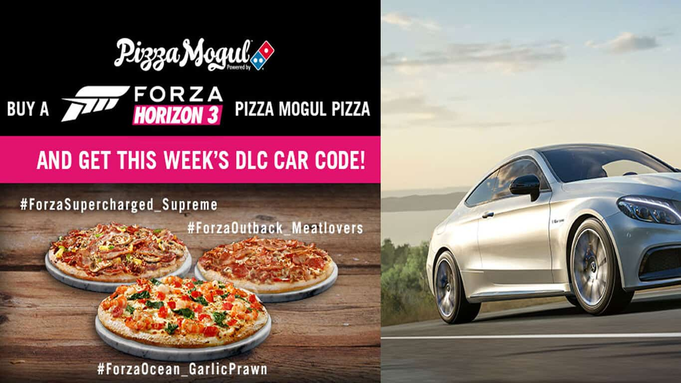 Dominos Pizza Forza Horizon 3 Campaign