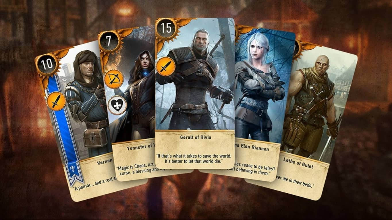 Gwent: The Witcher Card Game on Xbox One and Windows 10