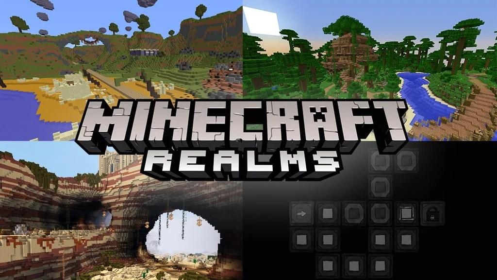 Mojang's Minecraft Realms new maps