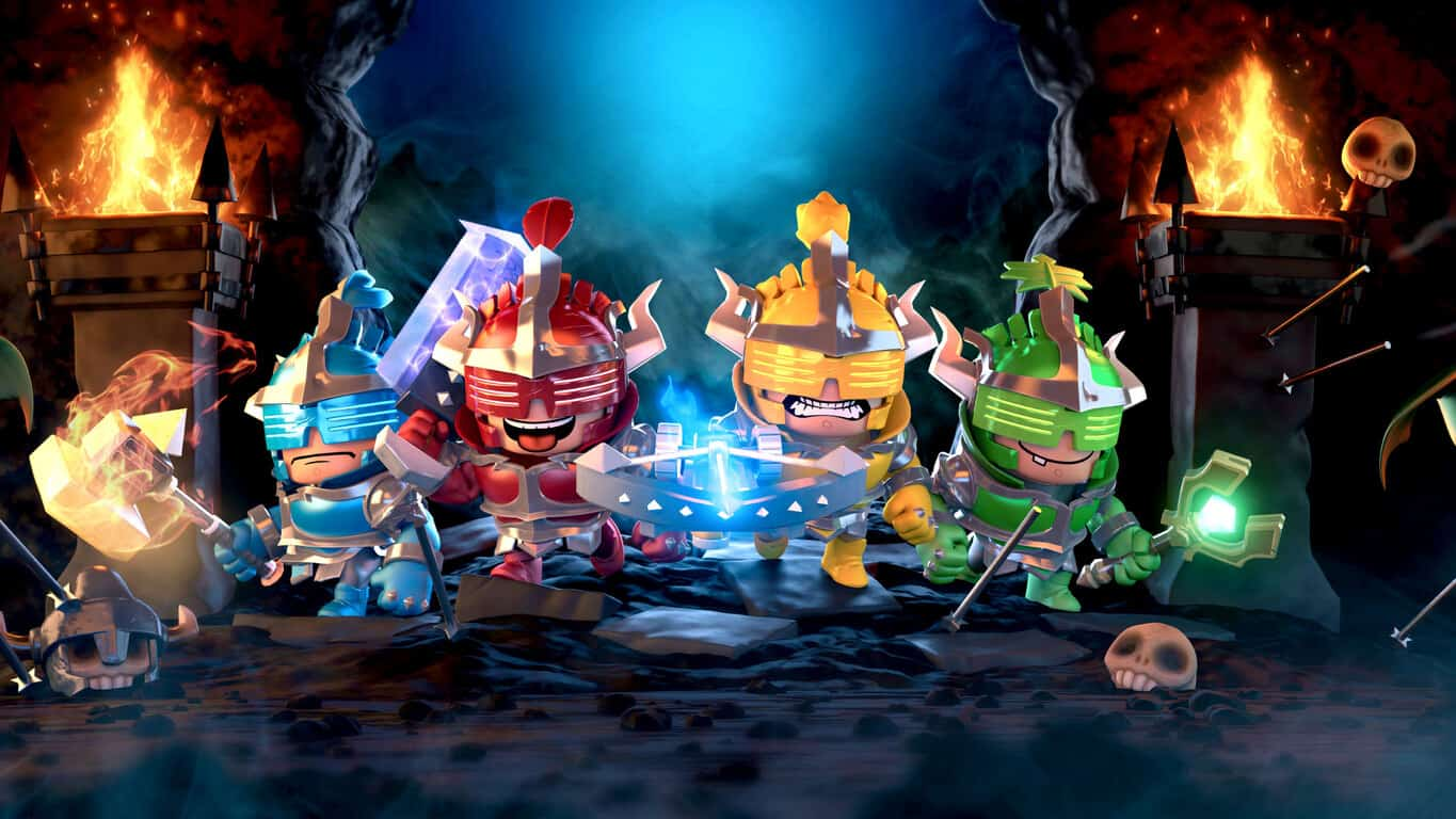 Super Dungeon Bros on Xbox One