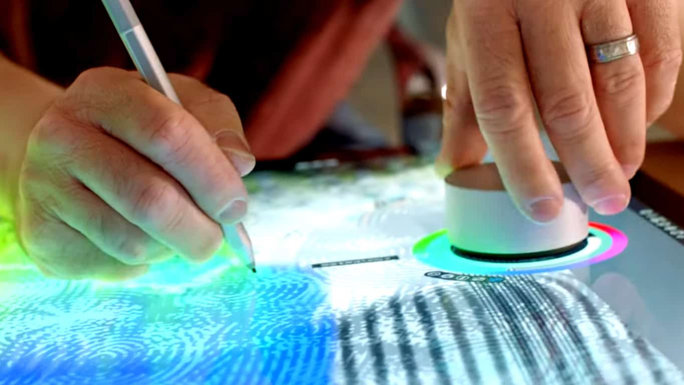 Microsoft Surface Dial and the Surface Studio