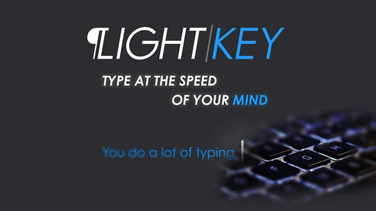 Can LightKey really make typing in Microsoft Office more efficient