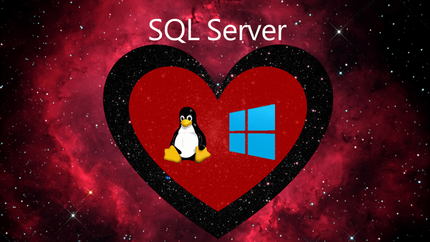 Windows 10, SQL Server, Linux, Docker