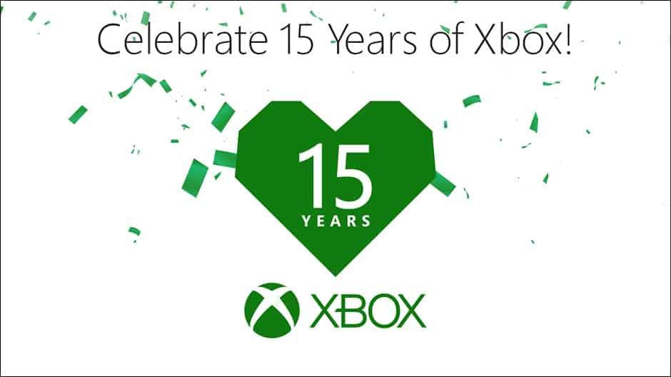 15 years, Xbox, Microsoft