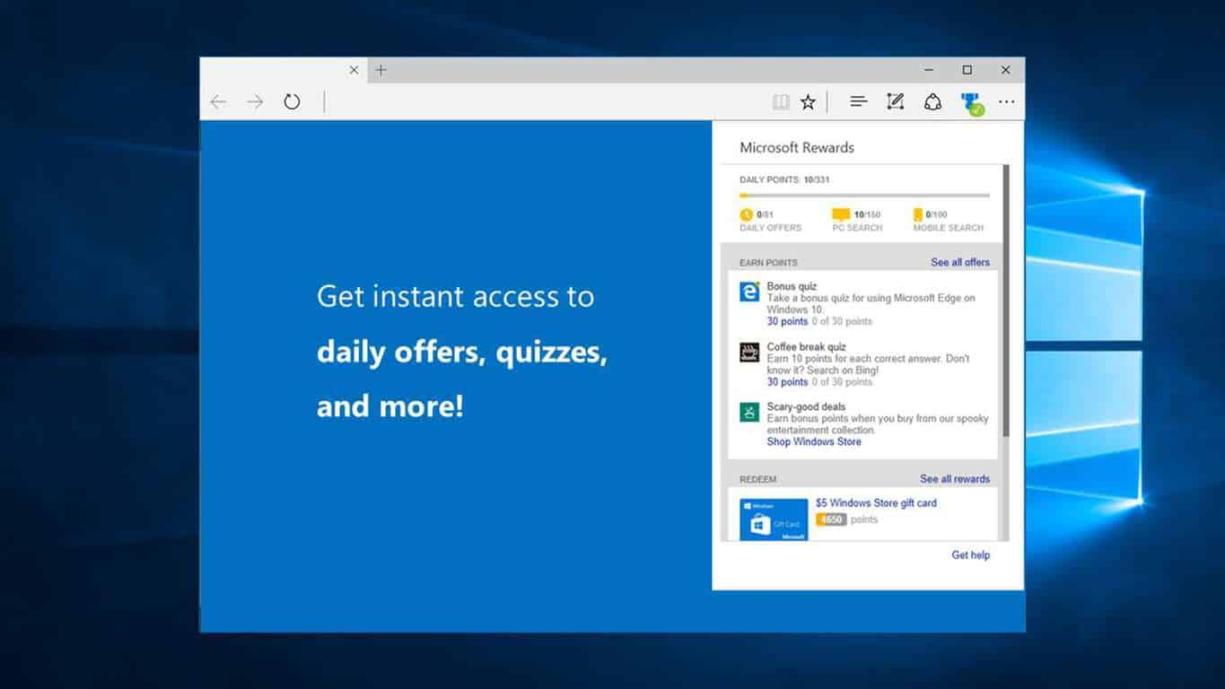 Microsoft, Rewards, Extension, Edge