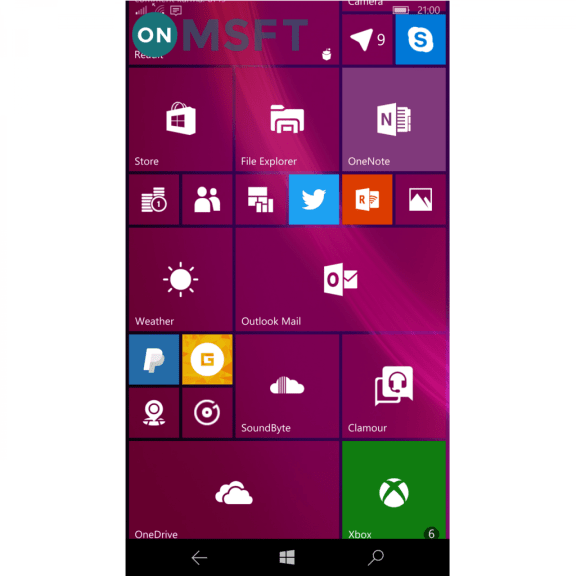 Weather app for Windows 10 gets transparent Live Tile, other MSN