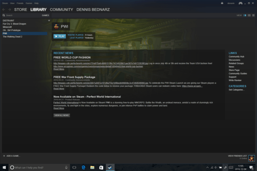 Steam Game Not Launching Windows 10