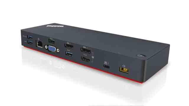 ThinkPad Thunderbolt 3 Dock