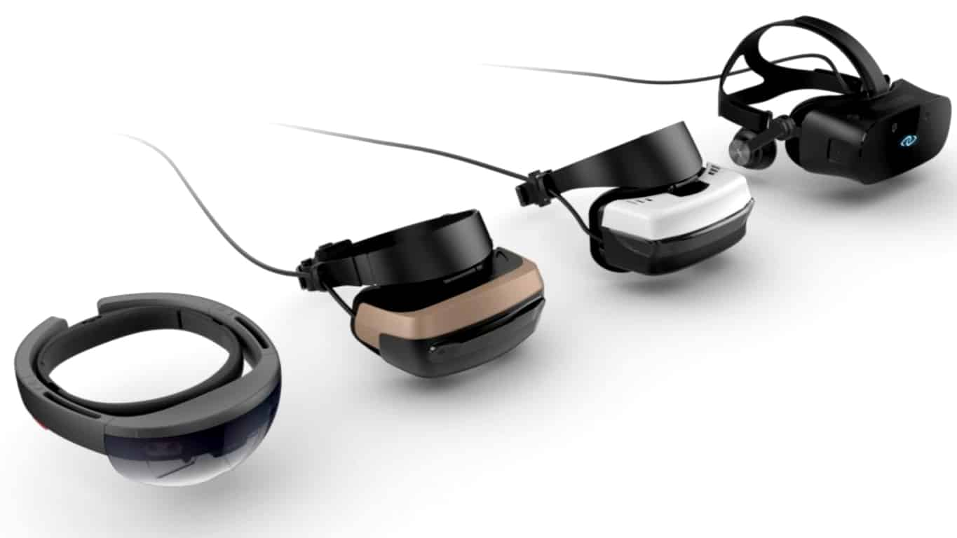Windows 10 VR/Mixed Reality/Augmented Reality Headsets