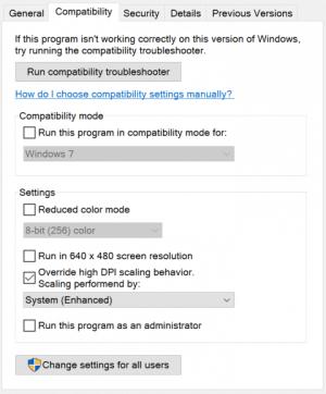 Improved high-DPI support for desktop apps