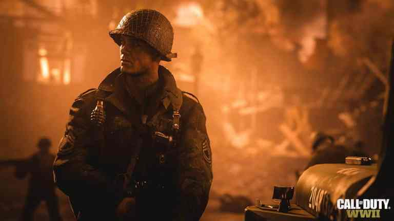 Call of Duty WWII on Xbox One