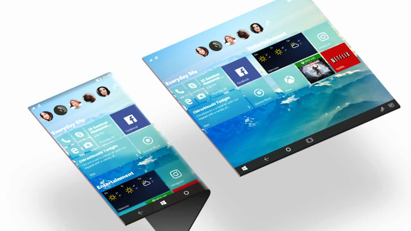 Windows 10 Concept by Nadir Aslam