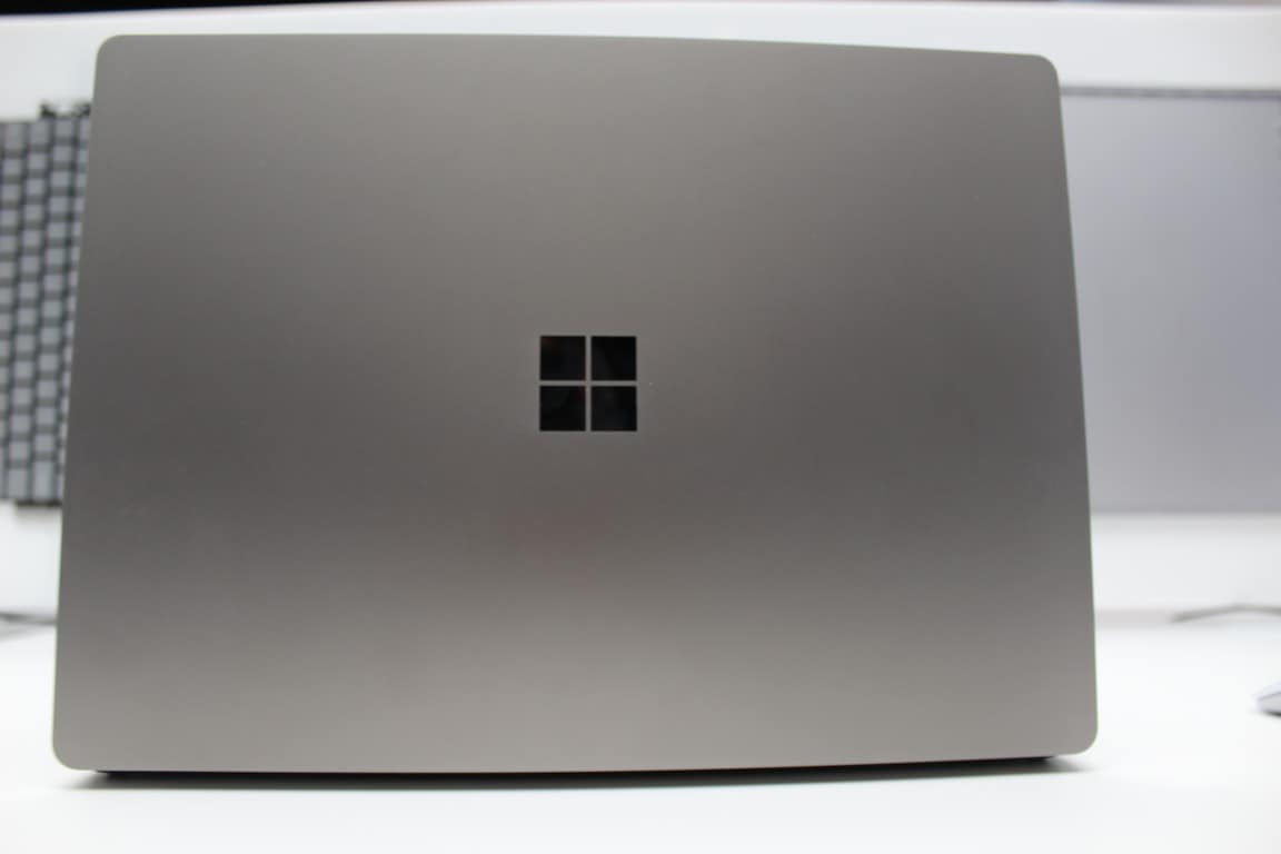 Back of Surface Laptop
