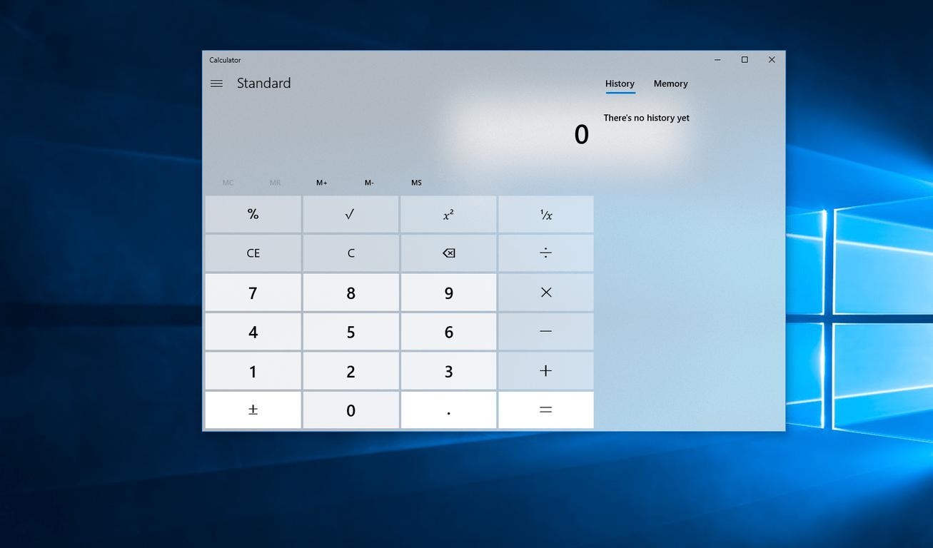 Fluent Design Calculator