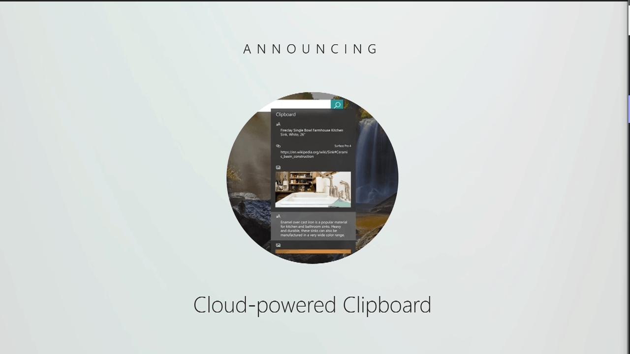 Cloud Powered Clipboard