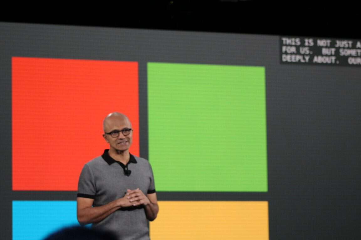 Satya Nadella May 2nd MIcrosoft EducuationEvent