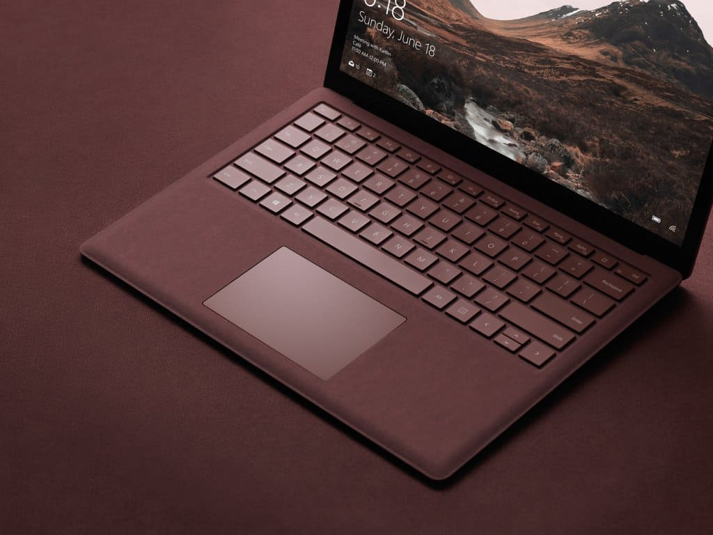 Surface Laptop also gets new firmware for the Windows 10