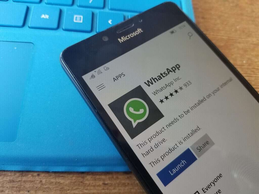WhatsApp will stop working on Windows phones after December