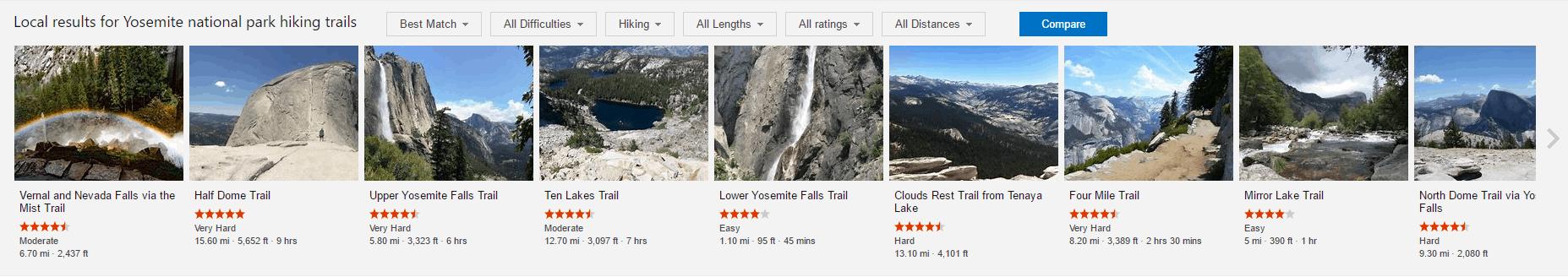 Bing Hiking