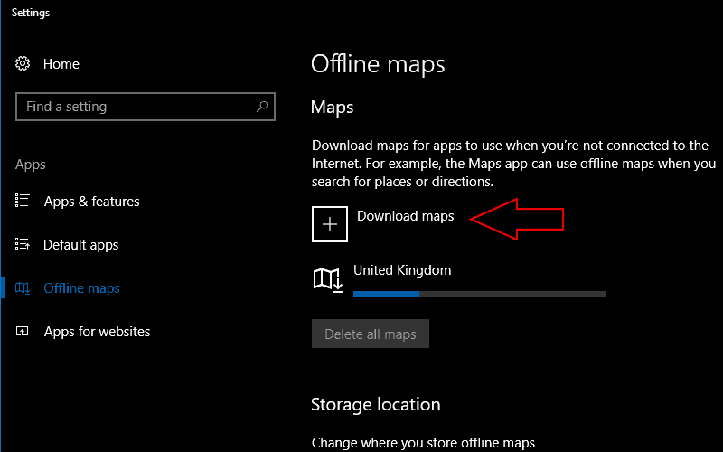 How to download offline maps in Windows 10 OnMSFT.com Download Map Apps on
