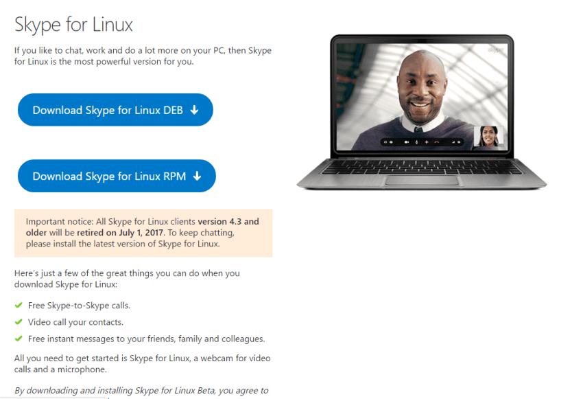 PSA: Starting July 1st, older versions of the Skype desktop app for