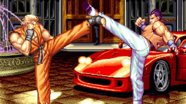 Neo Geo's Art of Fighting 2 on Xbox One