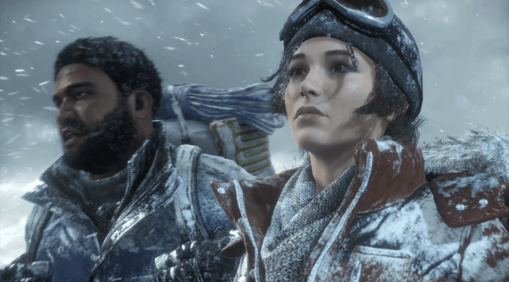 First look at Rise of the Tomb Raider on Xbox One X vs PS4 ...