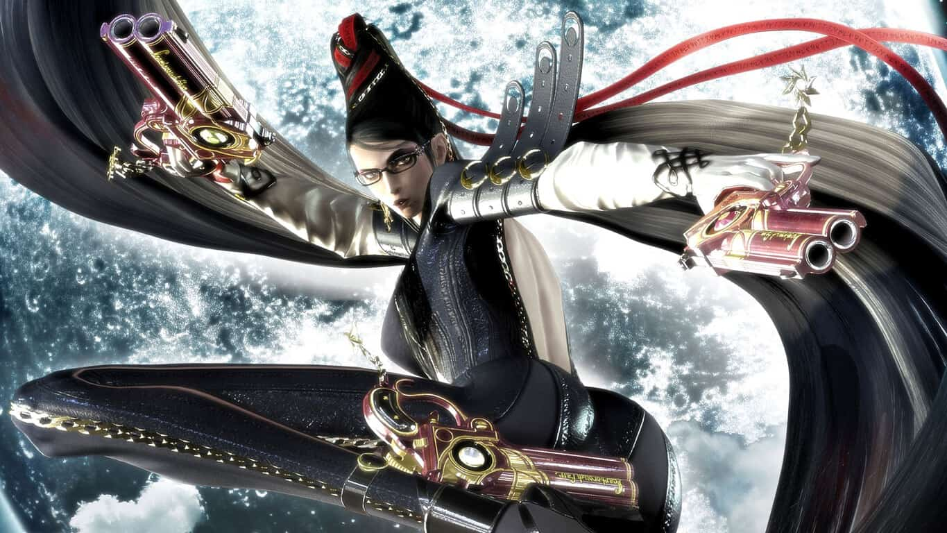 Bayonetta video game on Xbox 360 and Xbox One