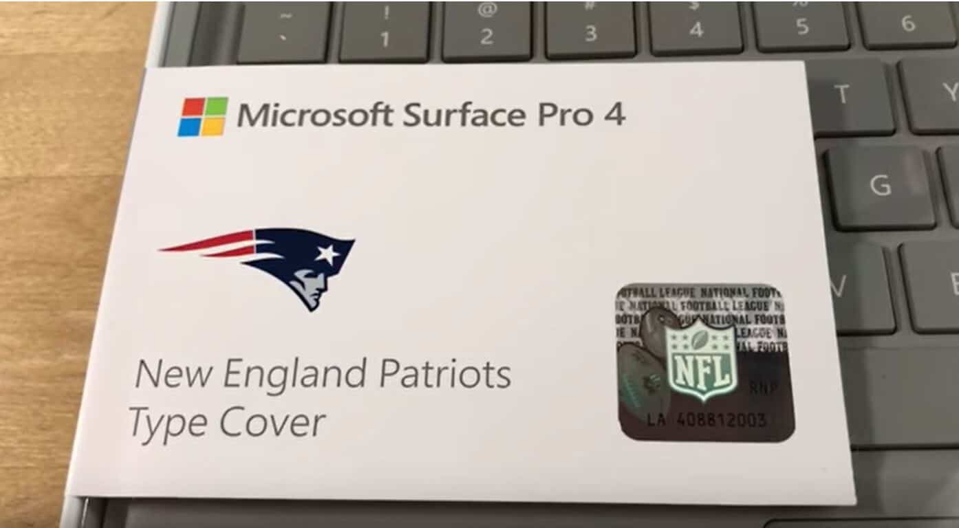 Microsoft, Surface, NFL, Type Cover