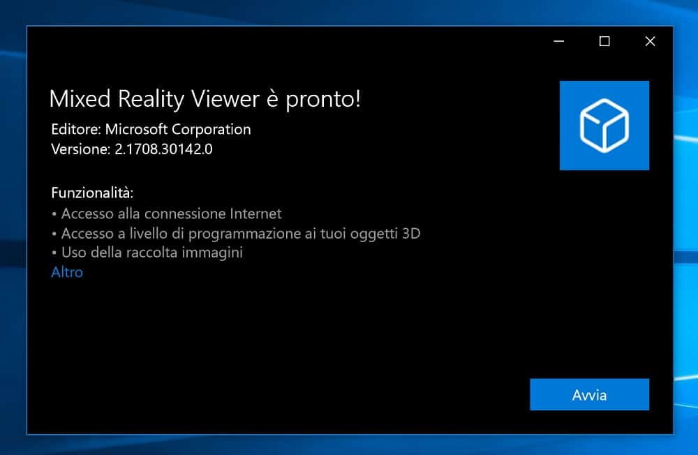 """Windows 10 View 3D app becomes """"Mixed Reality Viewer"""" for"""