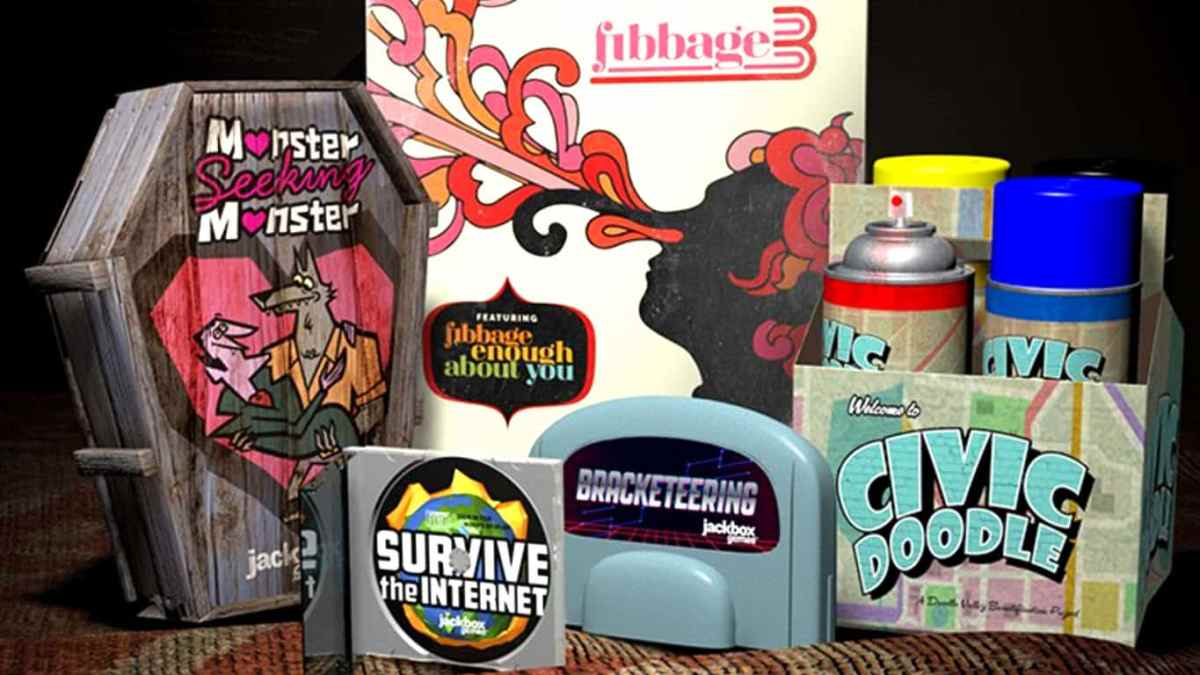 The Jackbox Party Quadpack video game bundle out now on ...