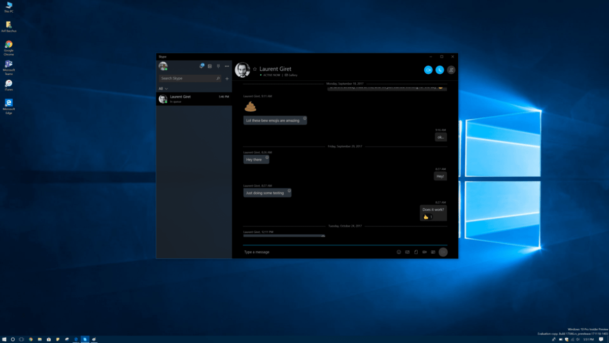 Windows 10 Skype app gets first Fluent design touches in latest