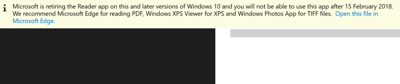 Microsoft's Reader app