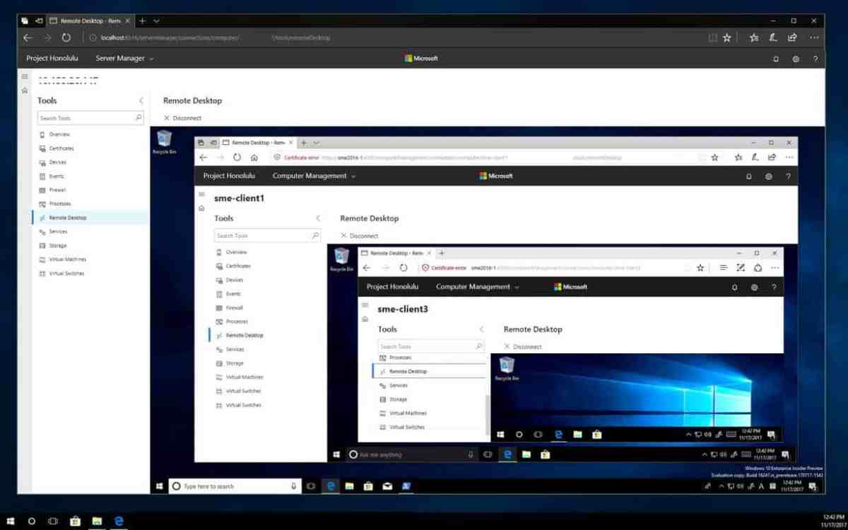 Windows Server Project Honolulu, RSAT also get new builds