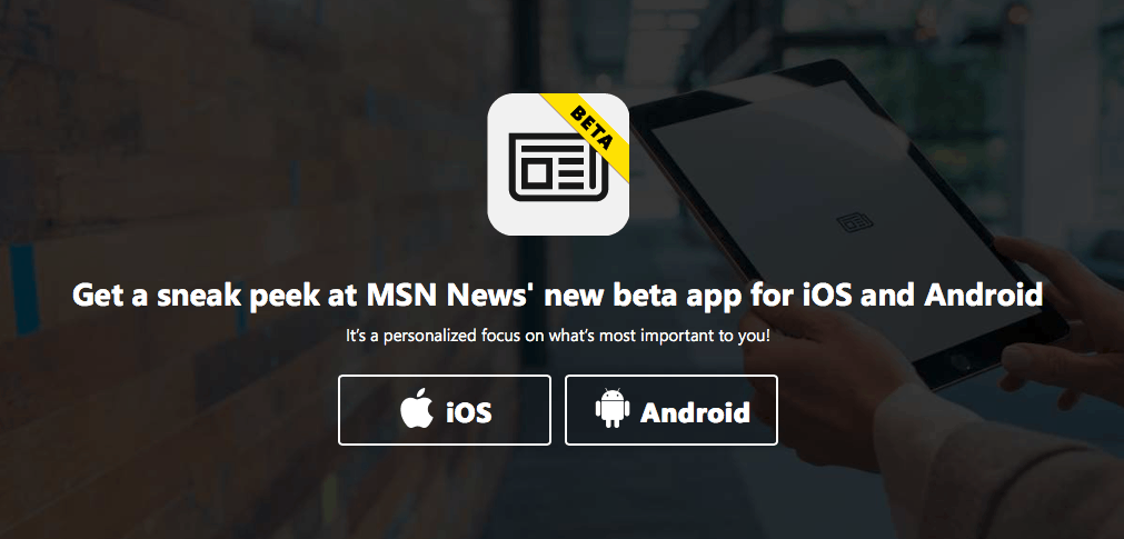 Microsoft launches new MSN News beta app on iOS and Android OnMSFT com