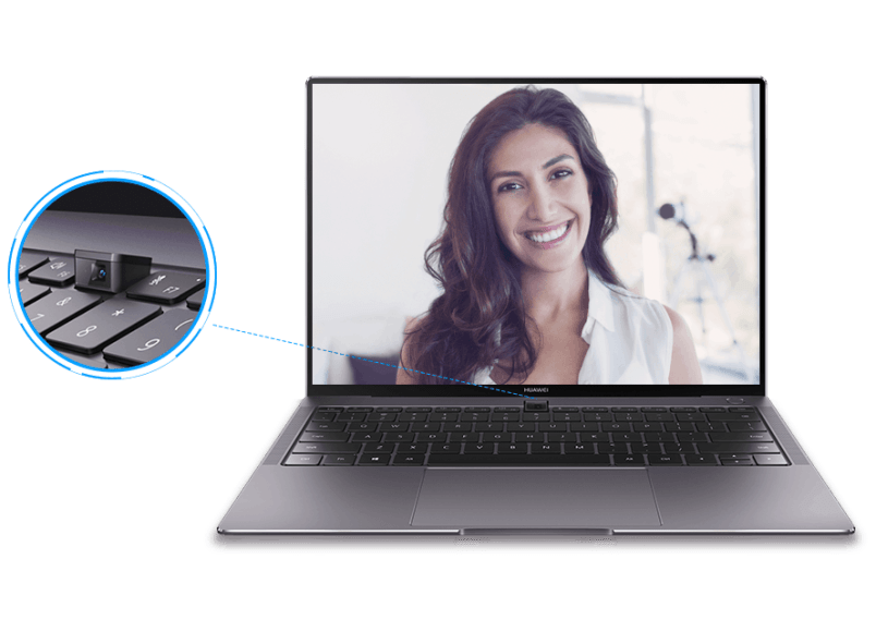 d0e9cd13223 The MateBook X Pro brings a hidden camera built-in to the keyboard, as well  as an upgraded CPU. Microsoft Store ...