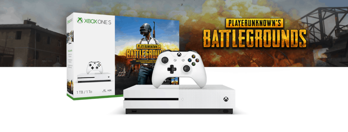 Xbox One S 1TB PUBG bundle will officially launch on