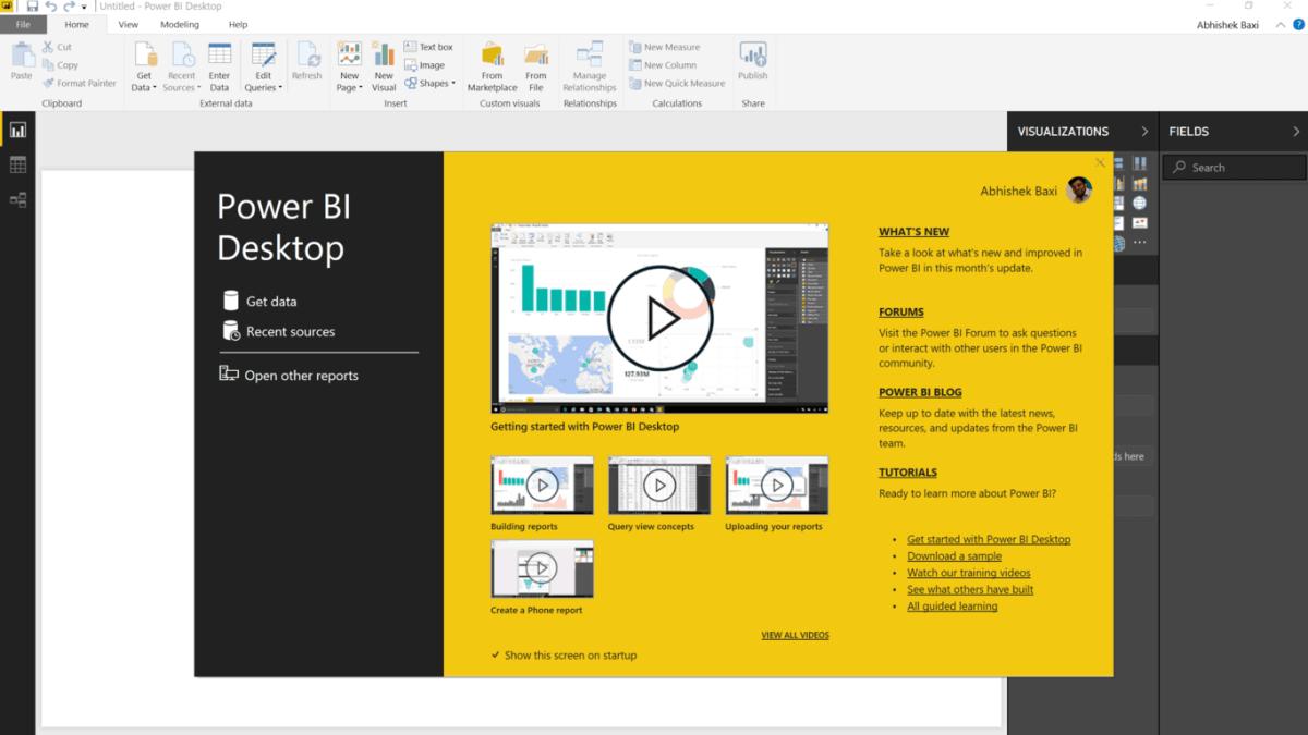 Getting Started with Power BI Desktop OnMSFT com
