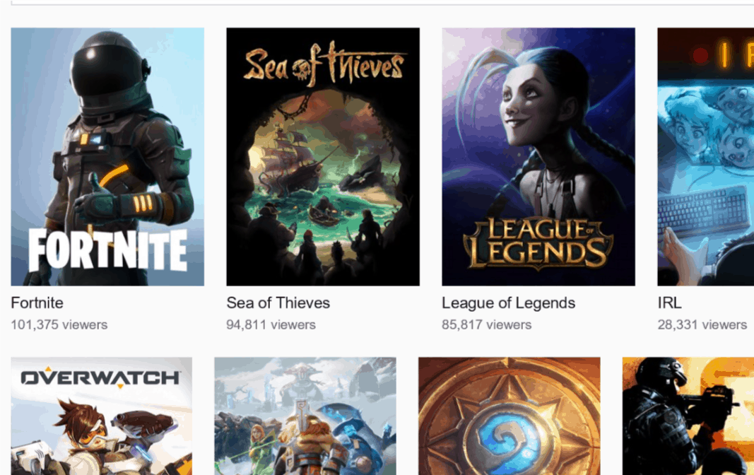 Sea of Thieves on Twitch