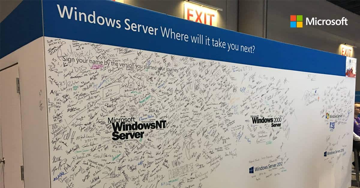 Microsoft releases Windows Server vNext preview build 18945 and
